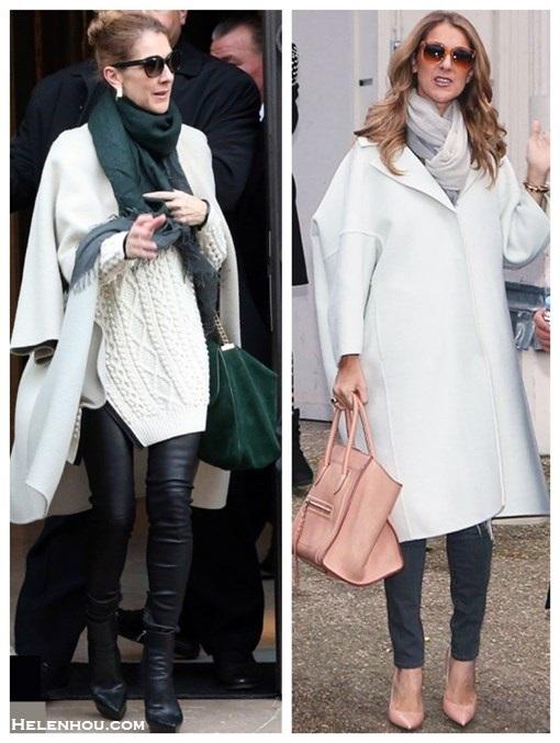 Winter White Oversized Coat Amp Ladylike Accessories